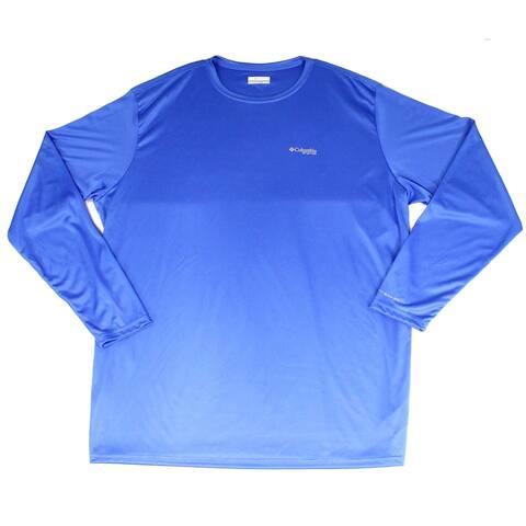 Columbia Mens T-Shirt Blue Size Large L Terminal Tackle Americana Tee