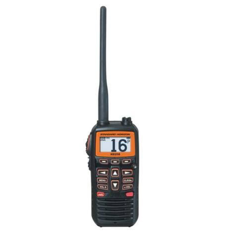 Standard Horizon HX210 6 Watt Compact Floating Handheld Marine VHF Radio