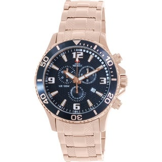 Swiss Precimax Men's Tarsis Pro SP13066 Rose-Gold Stainless-Steel Dress Watch