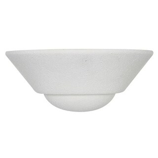 """Sunset Lighting F8994 1 Light 75 Watt 4.375"""" Height Wall Washer Sconce