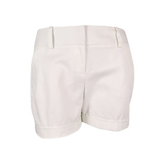 Vince Camuto Women's Cuffed Shorts (New Ivory, 14) - new ivory - 14