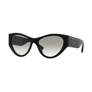 Link to Valentino VA4071 50018G 55 Black Woman Irregular Sunglasses Similar Items in Women's Sunglasses