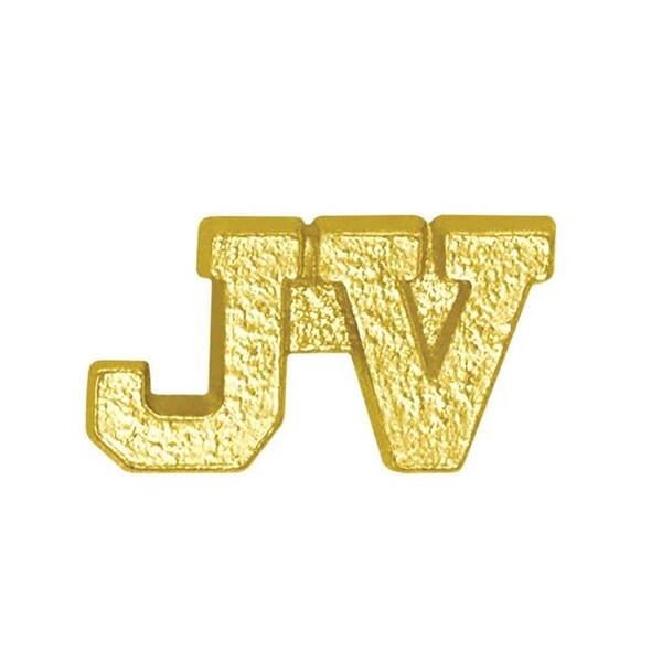 Simba CL042 0.64 in. Chenille JV Lapel Pin, Bright Gold