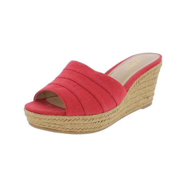 Lauren Ralph Lauren Womens Karlia Wedge Sandals Espadrille