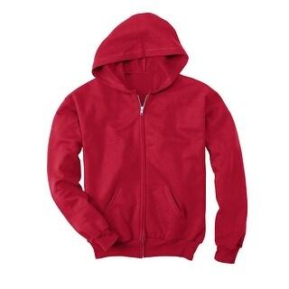 Hanes Comfortblend EcoSmart Full-Zip Kids' Hoodie Sweatshirt - S