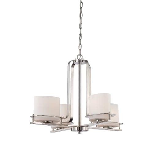 """Nuvo Lighting 60/5104 Loren 4 Light 26-1/4"""" Wide Chandelier"""