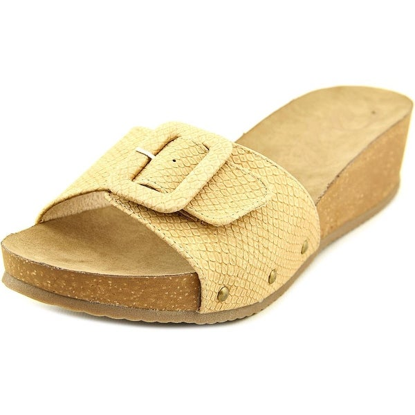 Rocket Dog Gosford Women Open Toe Synthetic Nude Slides Sandal