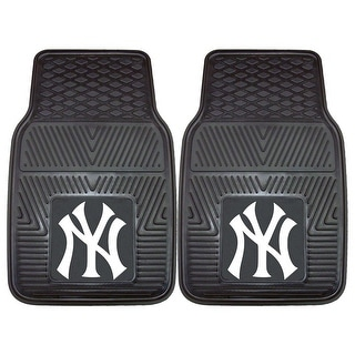 New York Yankees Heavy Duty 2 Piece Vinyl Car Mats