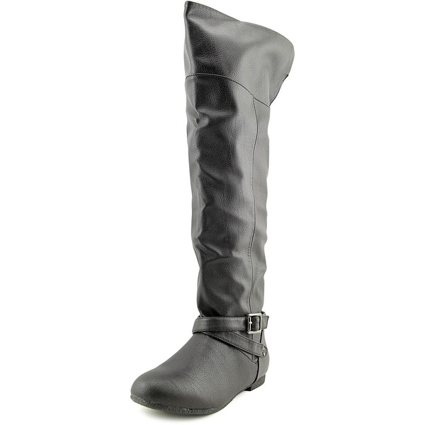 Dolce by Mojo Moxy Deacon W Round Toe Synthetic Over the Knee Boot