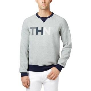 Tommy Hilfiger Mens Sweatshirt Fleece Graphic
