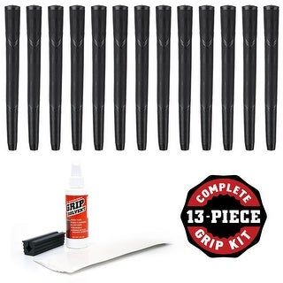 Karma Arthritic - 13 piece Golf Grip Kit (with tape, solvent, vise clamp)