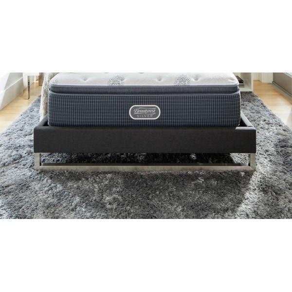 Beautyrest Silver Maddyn 14 Inch Luxury Firm Pillow Top Mattress Set