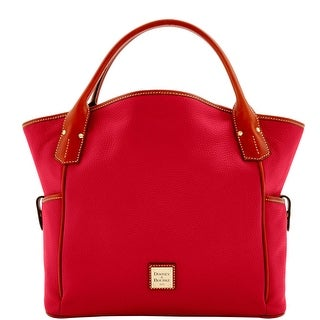 Dooney & Bourke Pebble Grain Kristen Tote (Introduced by Dooney & Bourke at $348 in Sep 2016) - Crimson