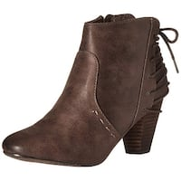 Report Womens Milla Closed Toe Ankle Fashion Boots
