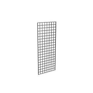 Econoco P3BLK25 2 x 5 ft. Gridwall Panel Black - Semigloss Pack of 3