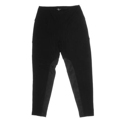 Lysse Womens Leggings Ponte Tummy Control - Black - XS