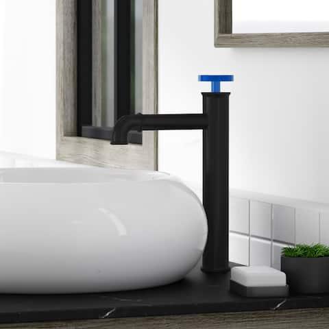 Avallon 12 Single Handle, Bathroom Faucet in Matte Black