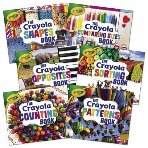 Crayola Concept Math Books - Set of 6