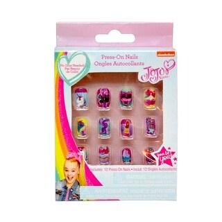 Jojo Siwa Press On Nails 12-Pack In A Box