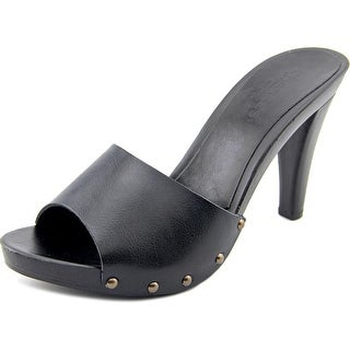 Charles By Charles David Salve Women Open Toe Synthetic Black Sandals