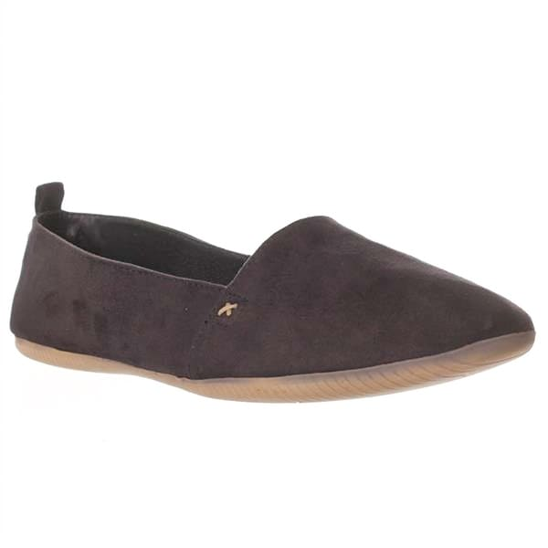 Leila Stone Bouy Flat Loafers - Midnight - 9
