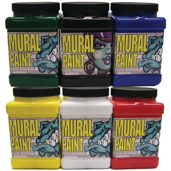 Chroma - Mural Paint Set - 6-Color 1/2 Gallon Primary Set
