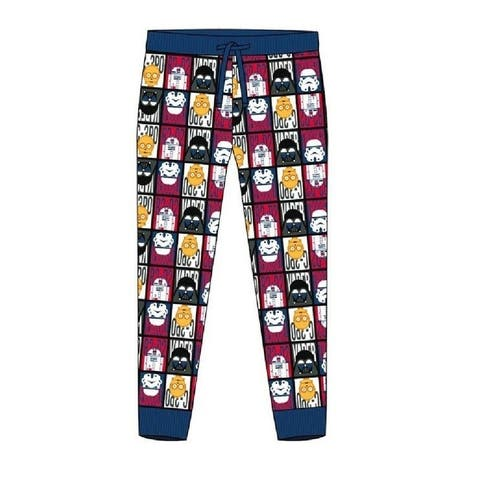 Star Wars Mens Cuffed Lounge Pants - Multicolored