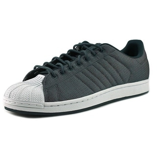 Adidas Superstar Woven   Round Toe Synthetic  Sneakers