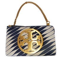 "Tory Burch Charlie Twisty Calf Hair Mini Purse Clutch W/Card Slots - 7.57"" x 4.58"" x 1"""