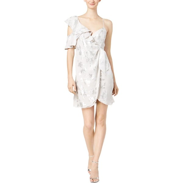 Bardot Womens Clubwear Dress Printed Wrap