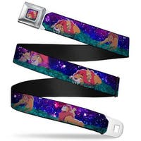Mufasa & Simba Full Color Mufasa & Simba Night Poses Webbing Seatbelt Belt Seatbelt Belt
