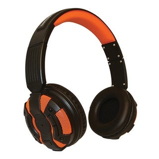 Bluetooth Over Ear Headphones Orange