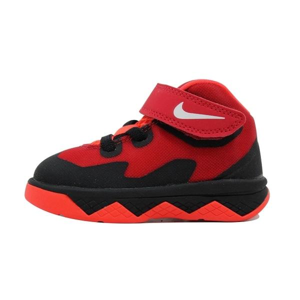 e7e104d1a0a2 Nike Toddler Soldier VIII 8 Black White-Gym Red-Bright Crimson Lebron James