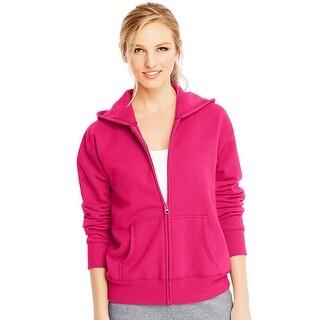Hanes ComfortSoft EcoSmart Women's Full-Zip Hoodie Sweatshirt - 2XL