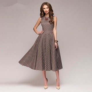 Link to Dot Printing Mid-Calf Casual Dress 4.9 Similar Items in Dresses