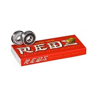 Bones Super Reds - Skateboard Bearings - 8 Pack