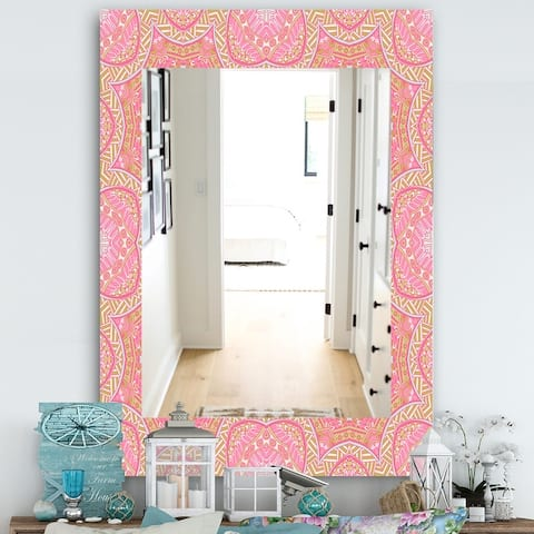 Pink Mirrors Shop Online At Overstock