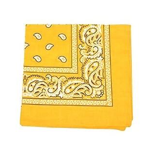 Set of 600 Mechaly Unisex Paisley 100% Polyester Double Sided Bandanas - Bulk Wholesale