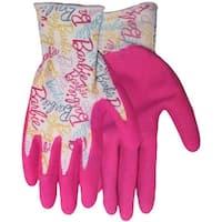 Midwest Quallity Glove BA100T Mattel Barbie Gripping Glove, Pink