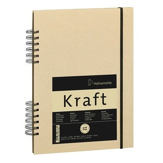 Hahnemuhle Kraft Paper A5 Sketch Book (Ochre Cover, 80 Sheets)