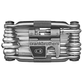 Crank Brothers M19 Bicycle Multi-Tool and Flask - Gray|https://ak1.ostkcdn.com/images/products/is/images/direct/d9877ebf6686882626232d551aae68d14b3ca71f/Crank-Brothers-M19-Bicycle-Multi-Tool-and-Flask---Gray.jpg?impolicy=medium
