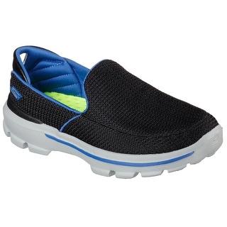 Skechers 95692 BKRY Boy's GOWALK 3 - UNRULY Sneaker