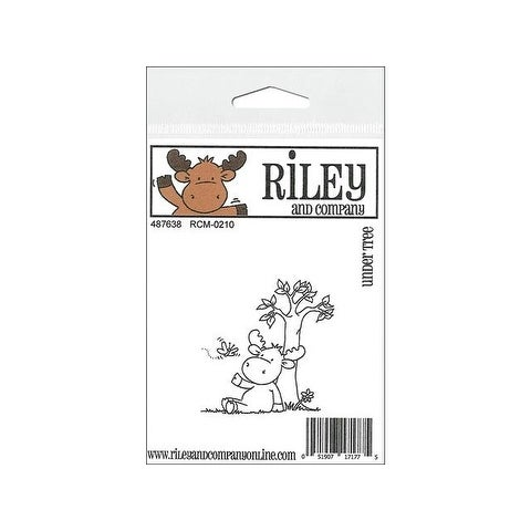 R&C Cling Stamp Under Tree