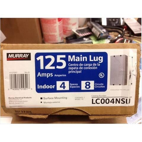 Murray LC004NSU Indoor Main Lug Load Center, 125 Amp
