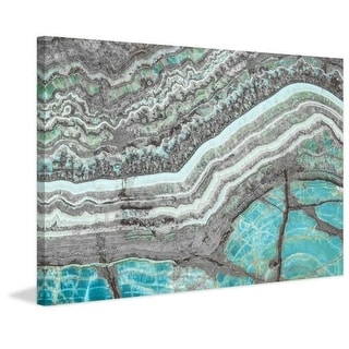 Marmont Hill Blue Grey Mountain Print on Canvas