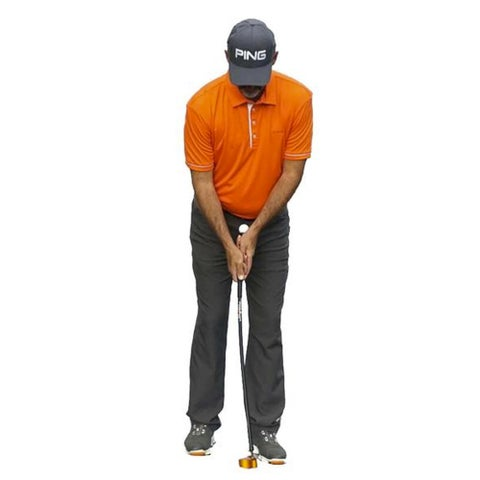 Orange Whip Putter Dual Sided Face Training Aid