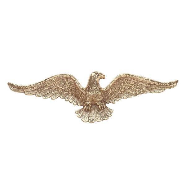 American Bald Eagle Cast Brass 6 H X 19 W | Renovator's Supply