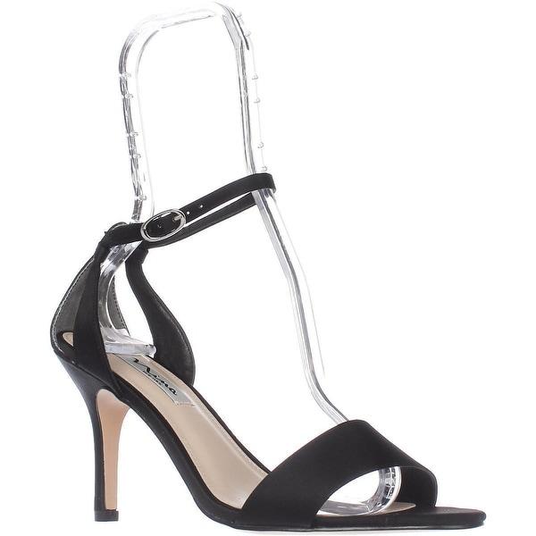 Nina Venetia Ankle Strap Dress Sandals, Black