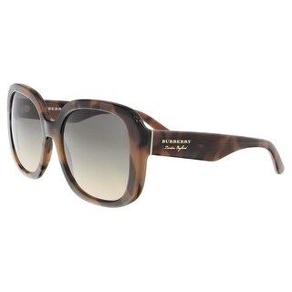 Burberry BE4259 3641G9 Spotted Brown Square Sunglasses - 56-18-140