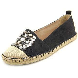 White Mountain Attentive Round Toe Canvas Espadrille